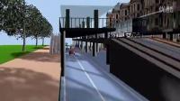 《城市公路轨道运输》(续二十七)车站桥带遮雨棚 3D动画(高清) 筑龙网