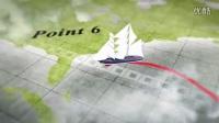 三只水牛【AE模板】旅行视频片头制作飞机 轮船 汽车路途中的记录