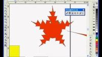 cdr教程交互式变形工具——coreldraw怎么图形变形