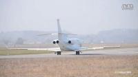 达索猎鹰7X飞机伯尔尼伯恩机场起飞