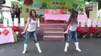 炫秀丶微笑控牛仔裤可爱美女秀舞_高清