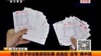 """视频: 湖北:女子非法集资买彩票 自首后""""追号""""竟中奖 141119"""