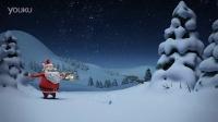 圣诞节新年 商务卡通风格 企业商铺产品LOGO演绎 贺卡AE模板源文件工程