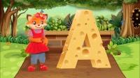 4到6岁幼儿英语之字母操篇-A怎么读-朗文英语酷学营