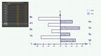 手绘风格数据图表分析动画AE模板展示