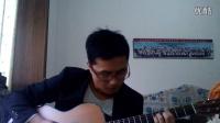 【琴友】吉他指弹《flower》(视频)