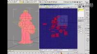 【3ds Max游戏美术课】44.消防栓模型UV分展III