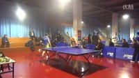 首届博乒网六安站QQ群乒乓球联谊赛 4进2 王向东VS江波 第五场