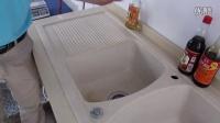 杰美石英石水槽 花岗岩水槽 洗菜盆 厨房水槽可靠性试验