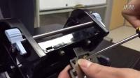 热敏面单打印机打印头安装CD1