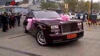 直击唐山最牛婚礼:李湘主持群星助阵豪车值2亿