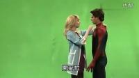耻度全开!《超凡蜘蛛侠2》的吻戏是怎么拍摄的