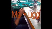 UGG真正的被授权的代工厂流水线