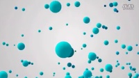 AE粒子小练习-三维球弹跳