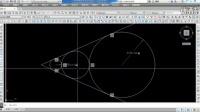 CAD平面绘图示范(110)