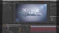 AE教程:利用E3D制作3D破碎文字