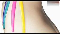 0170.美女-油漆泼在性感美女身上 创意广告