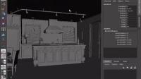 14112617@Maya.mental.ray室内渲染及材质贴图视频教程