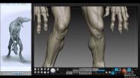 ZBRUSH 高精度怪物角色雕刻视频教学第二部