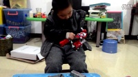 5岁男孩拼星空救援队天火消防车视频