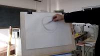《邵老师说如何画素描石膏几何体》 专题视频教程-如何绘制一个素描石膏几何体球体1