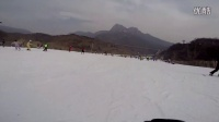 Gerald Y 1st skiing