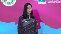 世界羽联黄金大奖赛澳门站回顾:冠、亚军颁奖仪式