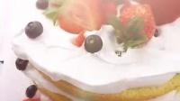 圣诞草莓裸蛋糕