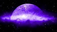 ET544月球月亮转动粒子飘散 婚礼婚庆