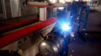 兰图机器人压力容器相贯线的焊接视频