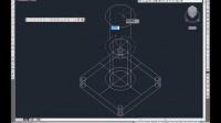 CAD 绘制三通模型