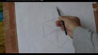 素描入门第13课,怎样画好正方体和球体的组合