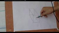 素描入门第11课,怎样画好两个石膏组合体