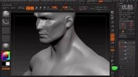 点石软件教育ZBrush人体模型雕刻示范