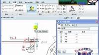 侯老师proe5.0入门第十六课:阀体工程图尺寸标注和公差、表面光洁度教程