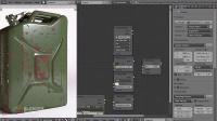 如何在Blender中制作磨损效果