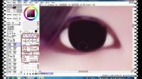 【遗落出品】转手绘板绘视频教程第03讲--眼睛画法