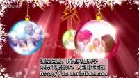 新年福利免费圣诞AE模板f174OP雪花边框视频贺卡AECS4模板,含音效 Christmas Greetings