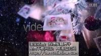 新年福利免费圣诞AE模板f171CS6版本,实拍+后期,圣诞树上挂着的相片展示,含音频 Christ