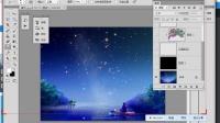 [PS]51RGB公开课  Photoshop教程 【12.23】ps教程:动态画笔璀璨星空 下