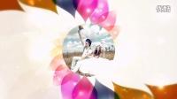 醉清风会声会影X6X7模板时尚绚丽花瓣相册展示婚礼相册写真相册