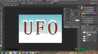 [PS]ps平面设计教程photoshop基础入门视频教程:如何灵活应用工具制作雪花文字
