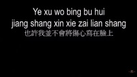 Wanting Qu 曲婉婷 - Wo Wei Ni Ge Chang 我為你歌唱 I Sing For You 《Pinyin Lyrics》