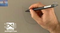 界兴域3D立体画教程,怎么在纸上画出立体的水晶天鹅