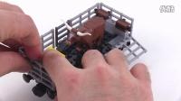 [积木砖家]乐高LEGO City 60052 Cargo Train set review! Summer 2014