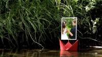 NO.0287 idobe 阳光明媚河边折纸许愿船照片相册AE模板