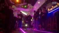 三傻夜店酒吧嗨大闹曳步舞