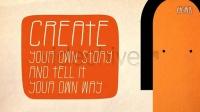 卡通类型文字标题动画我们的团队品牌宣传片AE模板