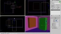 3DSMAX基础教程第4课 布尔运算与放样