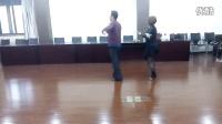 恰恰舞-单人舞步